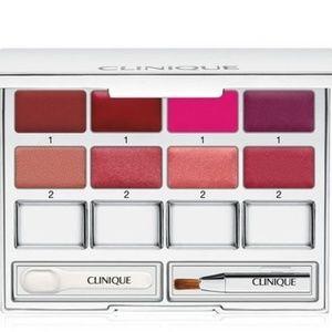 Clinique Pretty Easy Lip Palette 8 Colors Brush Sp